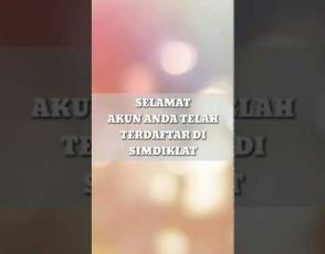 Embedded thumbnail for Panduan Daftar Akun