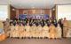 Sekda Prov. Babel Dr. Yan Megawandi, SH, M.Si, didampingi kepala BKPSDMD Prov. Kep. Babel Drs. H. Sahirman, M.Si, dan Kabid Pengembangan SDM, BKPSDMD Prov. Kep. Babel, Mohamad Iqbalsyah, SE dan beberapa tamu yang hadir berfoto bersama peserta Diklat PIM IV angkatan XXVI